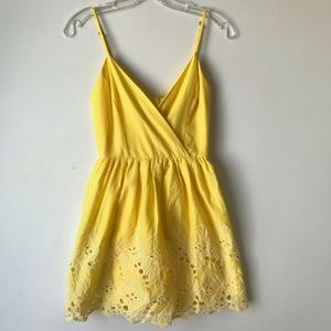 Altar'd State Embroidered Mini Sun Dress NWT #815
